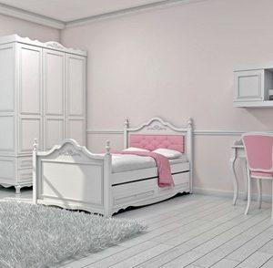 """חדר ילדים """"פרובנס"""" דגם 2"""