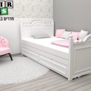 מיטת ילדים דגם נסיכה 2