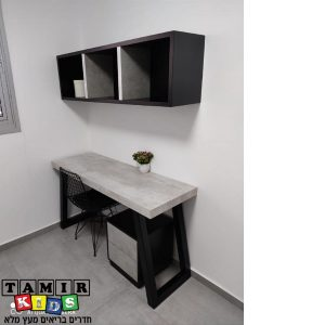 שולחן כתיבה וכוורת דגם ניב בטון